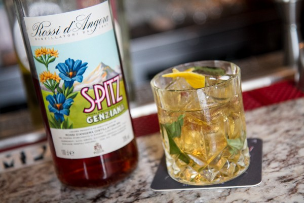 The Wild cocktail featuring Spitz