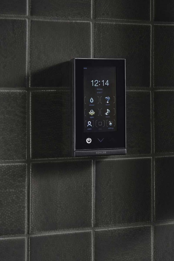 DTV+ controls shower preferences.