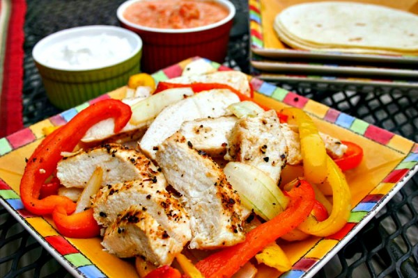 Kickin' Chicken Fajitas | Life, Love, and Good Food