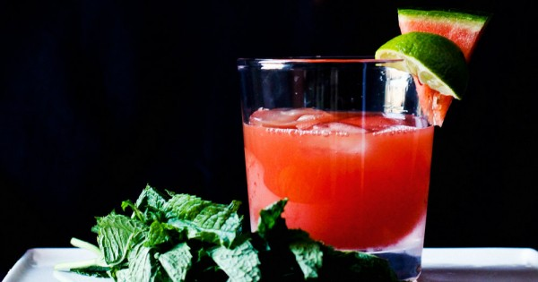 pineapple and watermelon margarita
