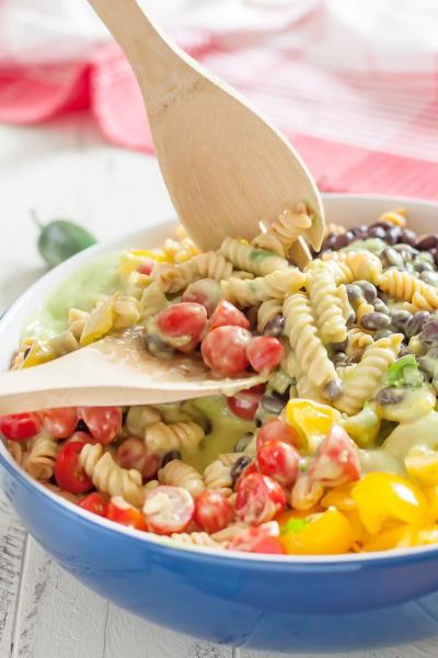 Gluten Free Southwest Pasta Salad Image