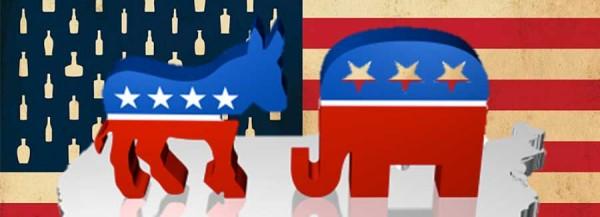 Presidential Candidate Bourbon Pairings Header