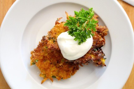 Butternut Squash Fritters |LocalSavour.com