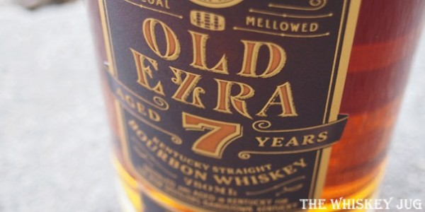Old Ezra 7 Years Barrel Strength Bourbon Detail