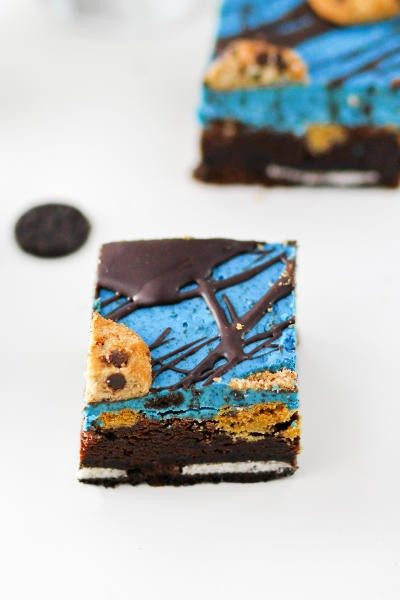 Cookie Monster Brownies Image
