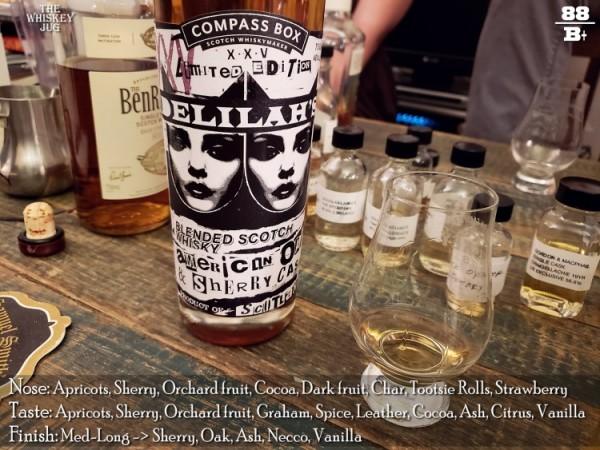 Compass Box Delilah's XXV Review