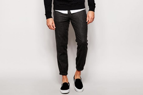 ASOS Skinny Fit Smart Joggers With Zips