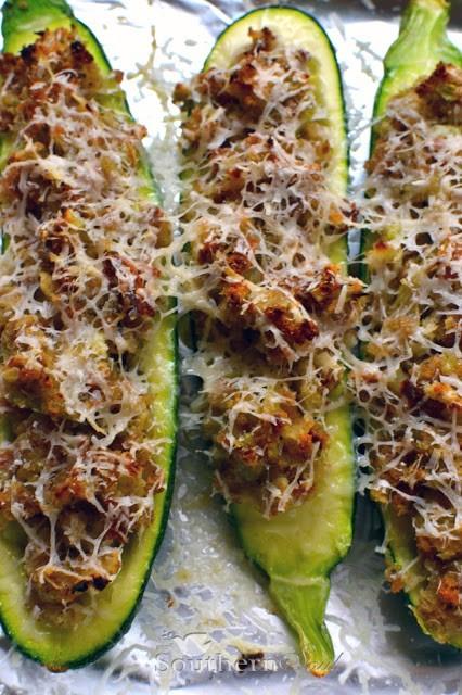 A Southern Soul | stuffed zucchini
