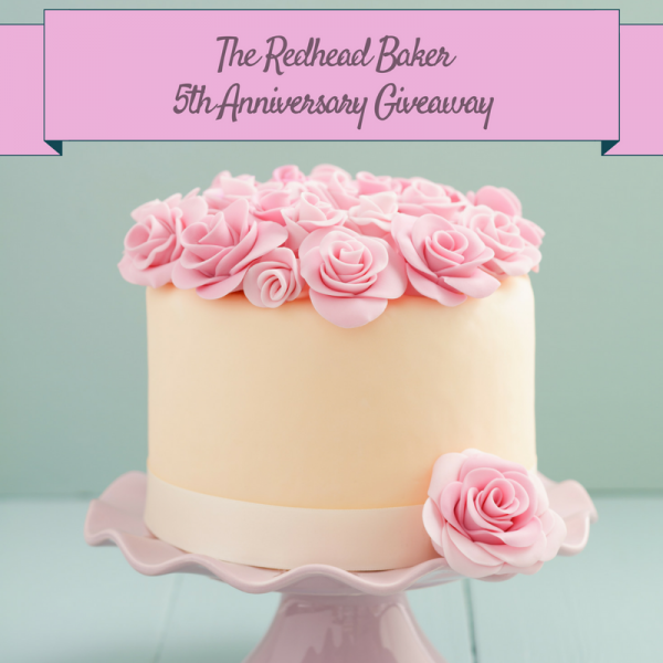 The Redhead Baker blog turns 5 years old! Celebrate with a Salted Caramel Affogato Parfait and a giveaway!