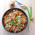 Shiitake Miso Soba Noodles