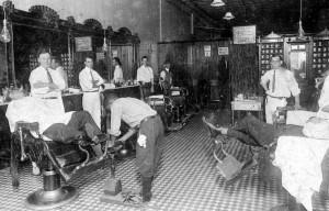 1915 Barber Shop