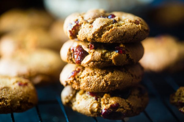 Paleo Cranberry Almond Cookies Photo
