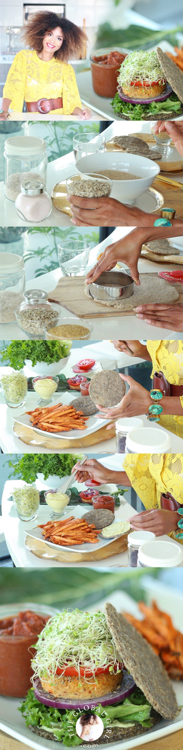 Raw vegan burger buns by ndoema epicurious community table the global girl raw recipes ndoema shares her super simple nut free oil forumfinder Images