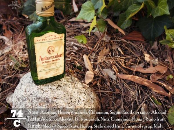 1980s Ambassador Deluxe Scotch Review