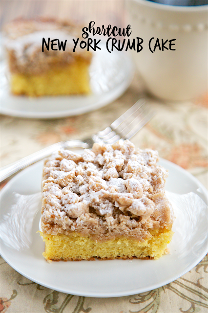 Easy Crumb Cake Recipe With Yellow Cake Mix