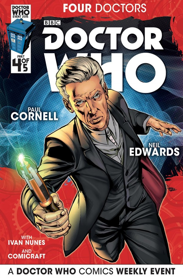 Doctor Who: Four Doctors #4 cover