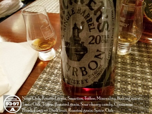 Michter's Bourbon 20 Years Review