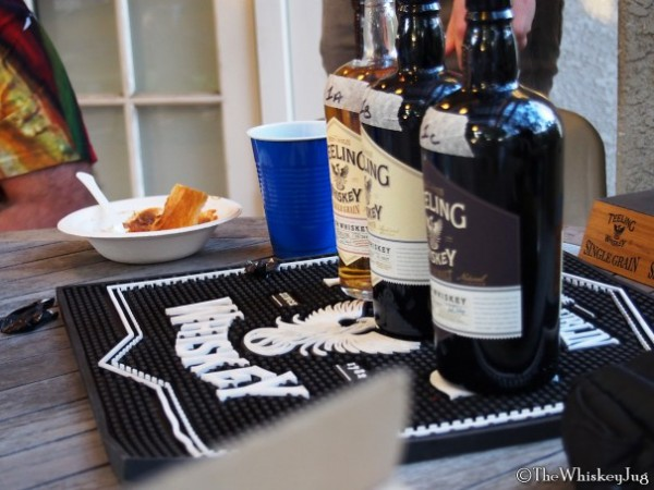 The core Teeling Irish Whiskey lineup