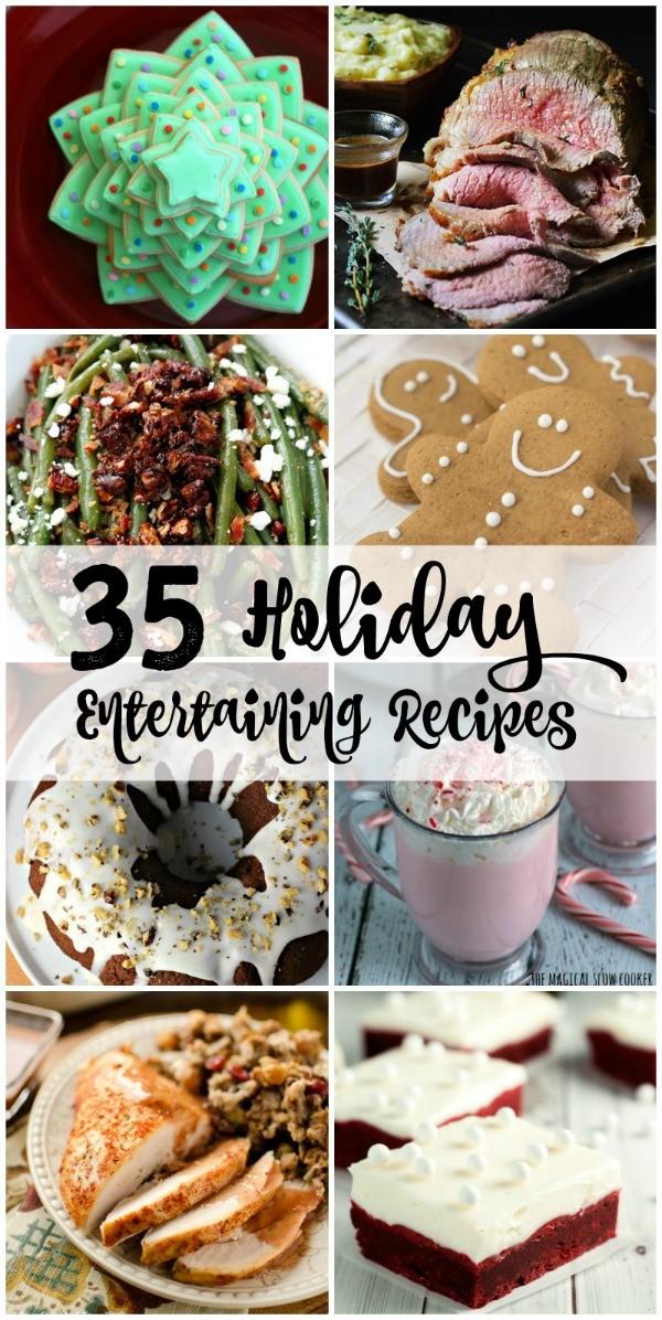 35 Holiday Entertaining Recipes Pin