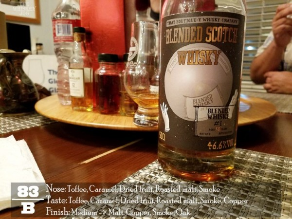 Boutique-y Blended Whisky Review