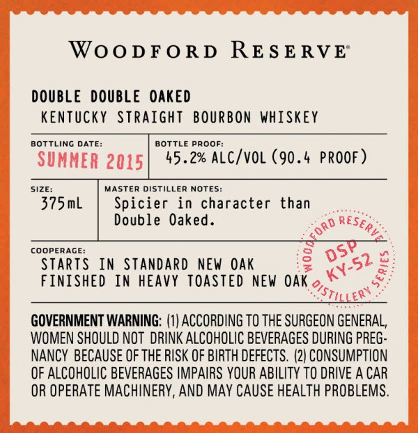 It's just a picture of Gratifying Woodford Reserve Personalized Label Program