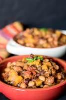 Vegan Butternut Chili | Slow-cooker recipe | infinebalance.com