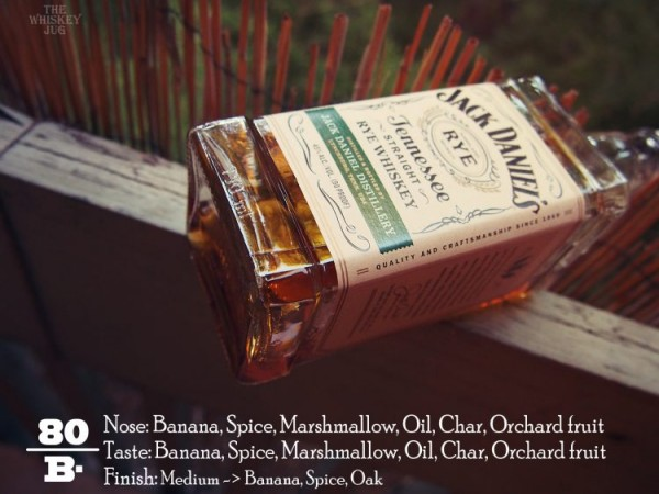 Jack Daniel's Tennessee Rye Review
