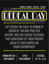 Repeal Day Large Print
