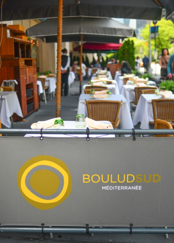 NYC - Boulud Sud - Exterior - Outdoor Seating