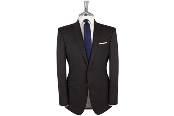 Banbury Charcoal Tonic Two-Button Slim-Fit Suit