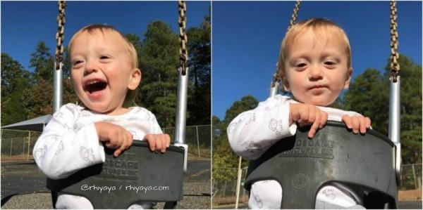 rowan swinging