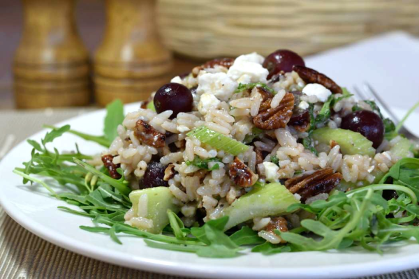 Basmati & Wild Rice Summer Salad by Tez Abbott | Epicurious Community ...
