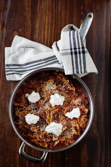 Skillet Lasagna - LauraFuentes.com