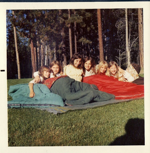 Girls' Slumber Party 1973 by glengould via Flickr (CC BY 2.0)