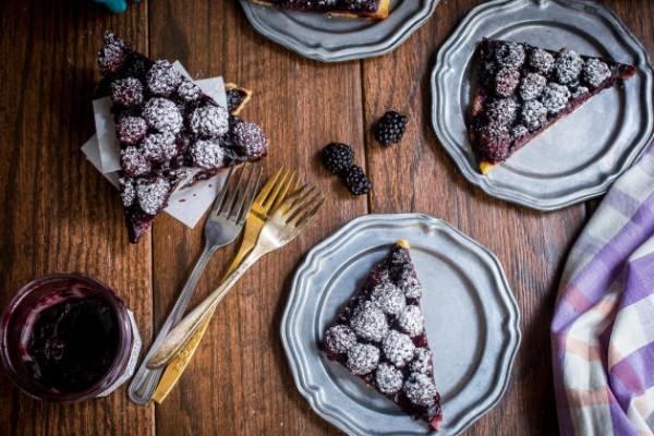 Bourbon Blackberry Jam Bars Image