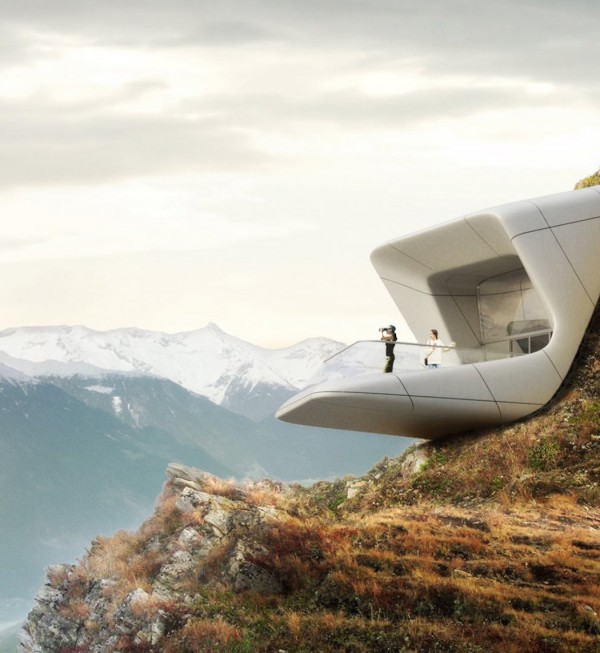 Messner Mountain Museum Corones by Zaha Hadid Architects 3