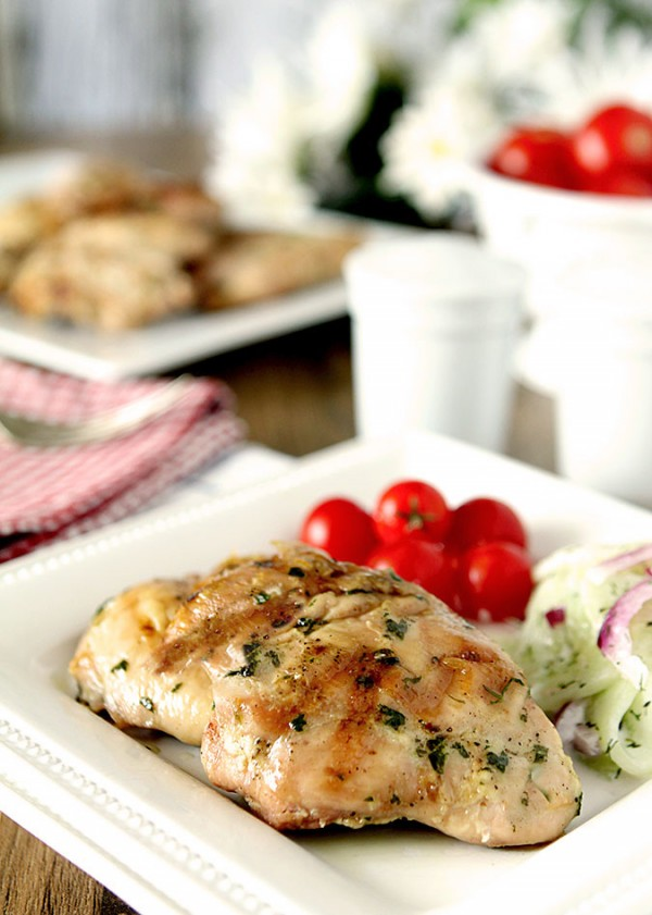 Barbecue Chicken Basting Sauce