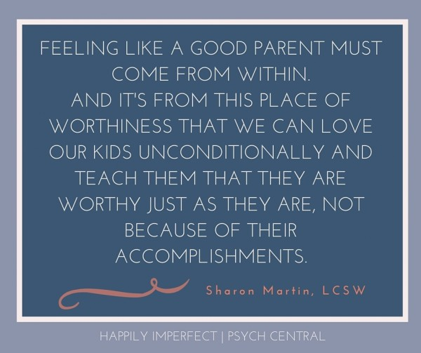 You Don't Have to be a Perfect Parent