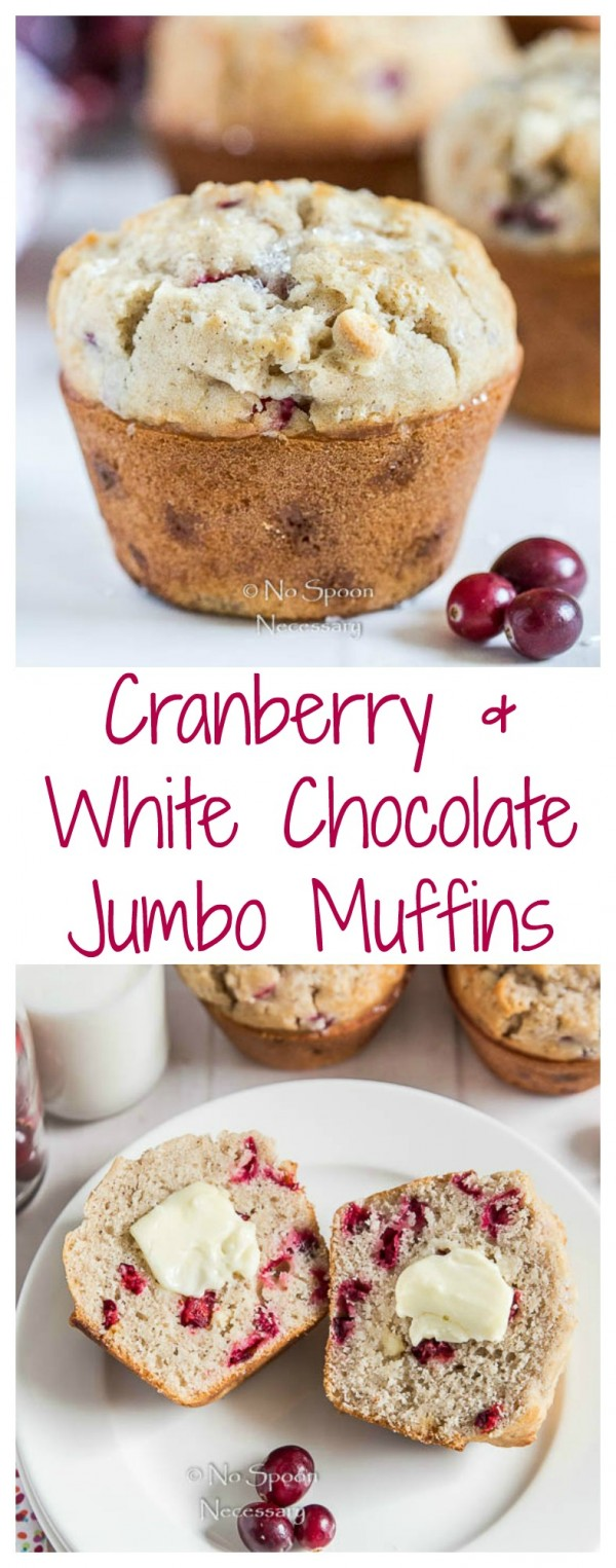 Cranberry & White Chocolate Jumbo Muffins by Cheyanne ...