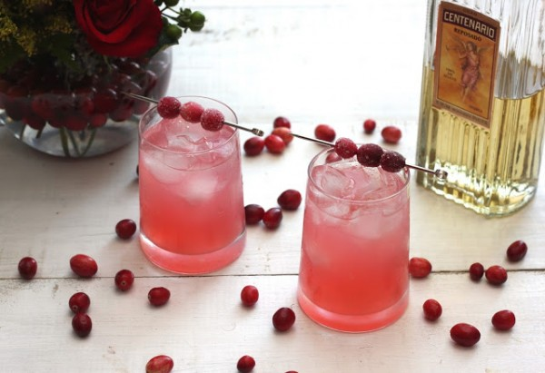 Spiced Cranberry Margarita