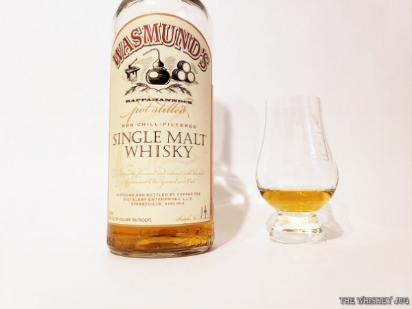 Wasmund's Single Malt Whiskey is young and raw but shows promise with a decent base spirit.