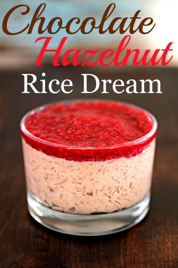 Chocolate Hazelnut Rice Dream