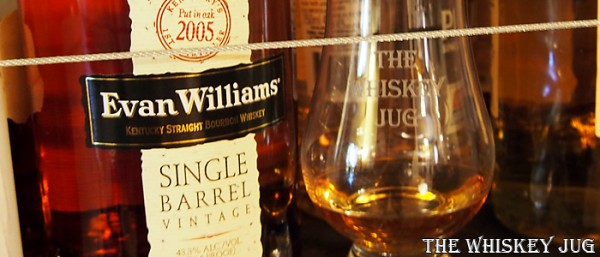 Evan Williams Single Barrel Vintage 2005 Label