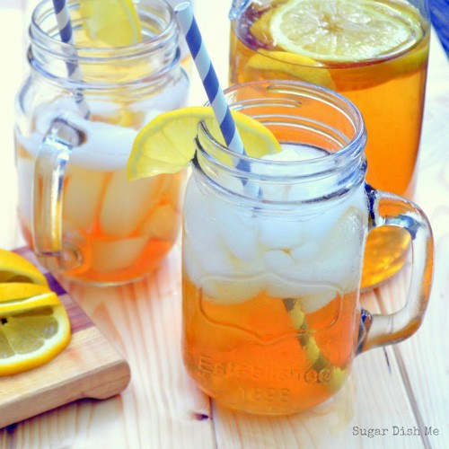 Sweet Tea Sangria | Sugar Dish Me