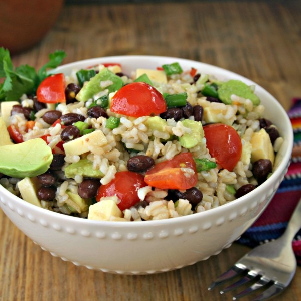 Santa Fe Rice Salad | Life, Love, and Good Food