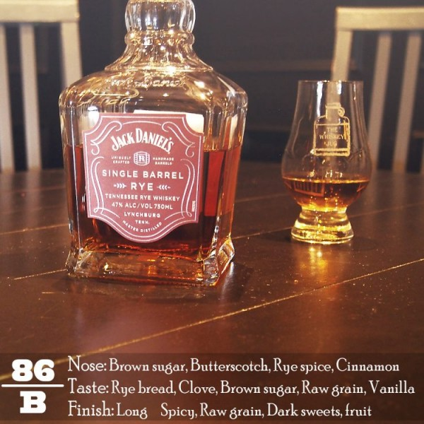 Jack Daniel's Single Barrel Rye Review