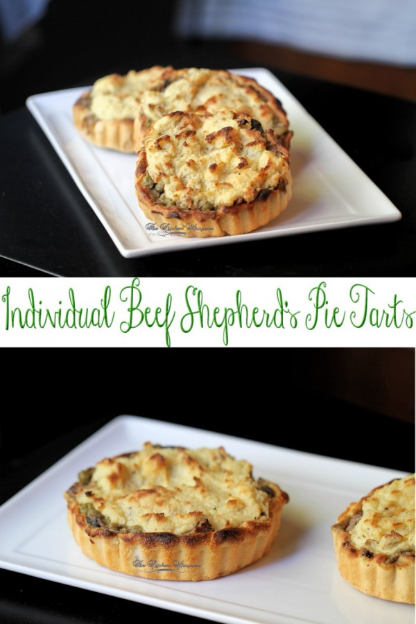Beef Shepherd Pie Tarts Collage