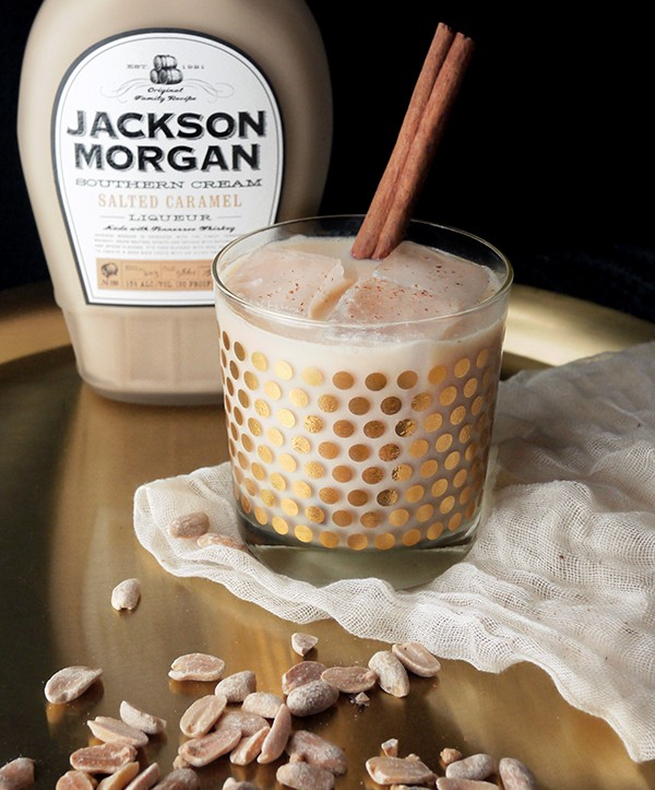 Jackson Morgan Salted Caramel and Peanut-Infused Whiskey Cocktails // stirandstrain.com
