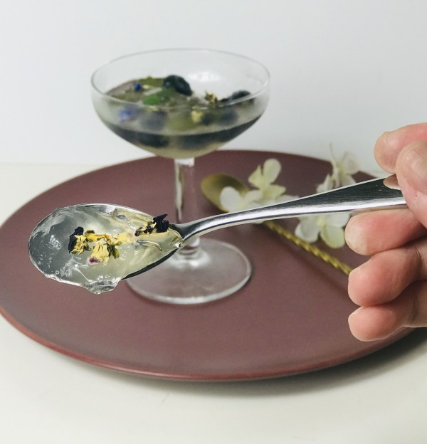 Sparkling Gin Jelly