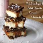 Salted Chocolate Caramel Cheesecake Bars